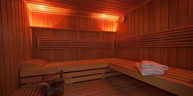Trockene Sauna
