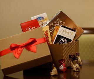 Upominki dla bliskich - zestaw czekoladek